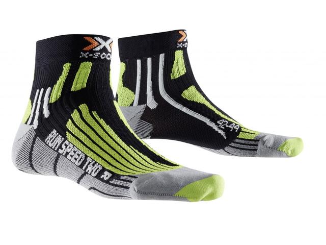 X-Socks Run Speed Two Socks black/green lime